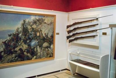 В музея