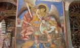 Стенопис на Архангел Михаил