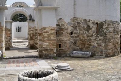 Аязмото в центъра на базиликата - Преслав