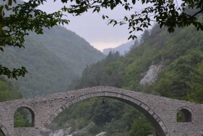 Дяволския мост в дълбочина