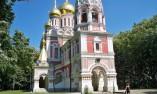 Храмът в село Шипка