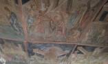 Изографисан таван - Ивановските скални църкви