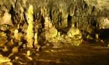 Красивите сталагмити в залата Каменна гора