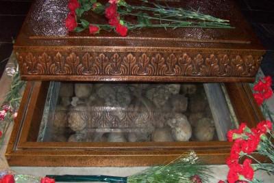 Кости на жертвите от Баташкото клане