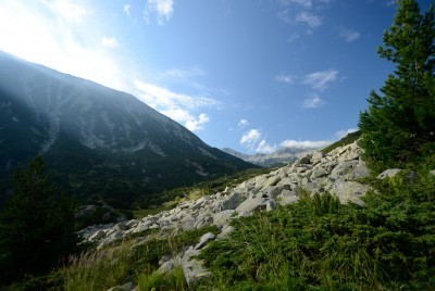 Изглед под връх Вихрен