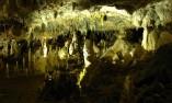 Красива сбирка от сталагмити и сталактити