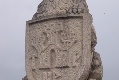 """Лъвът на входа на Ахритектурно-историческия комплекс """"Царевец"""""""