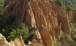 Пейзаж на Мелнишките пирамиди