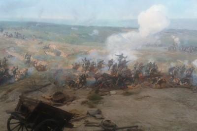 Голямото пано - сражения при Плевен