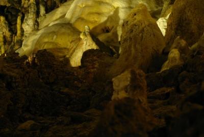 Каменната настилка на пещера Снежанка