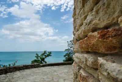 Пейзаж покрай стените на Двореца