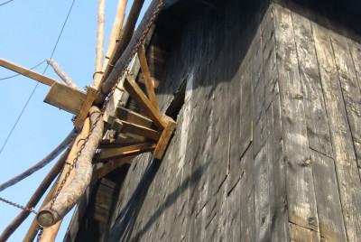 Вятърната мелница на входа на Стария Несебър