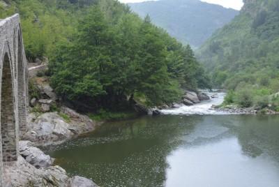 Река Арда - завой