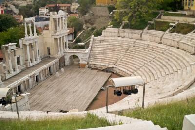 Древния театър на Пловдив