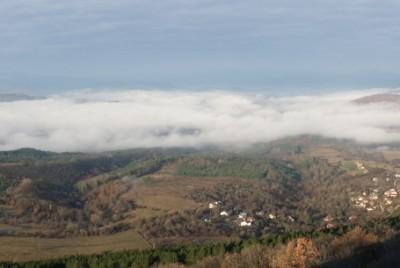 Панорамна гледка от върха