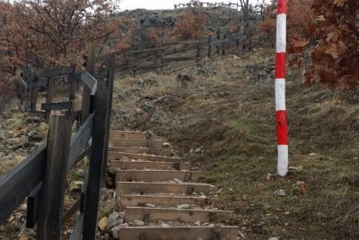 Стълбище по пътеката