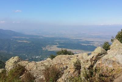 Панорама на северозапад от Копитото