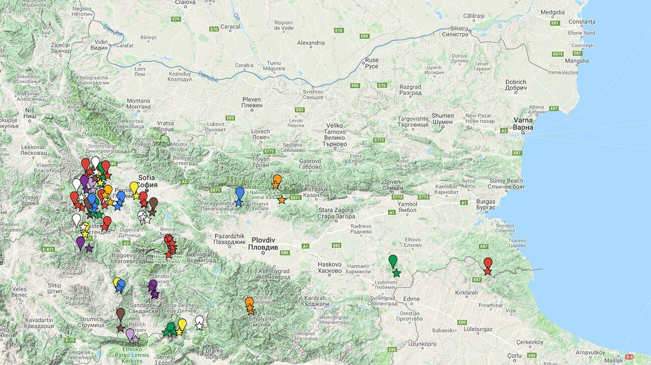 Marshruti Do Naj Visokite Vrhove Na Planinite V Blgariya