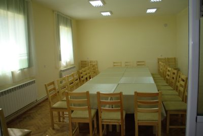 Конферентна зала в хижа Славянка