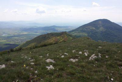 Южна панорама от връх Стража