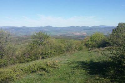 Планинска верига Краище, погледната от Черна гора
