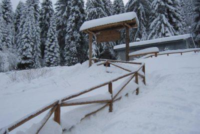 Снежна пътека - хижа Пионерска